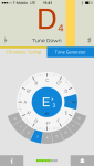 You can find a few good tuning apps on the App Store - I'm using insTuner.